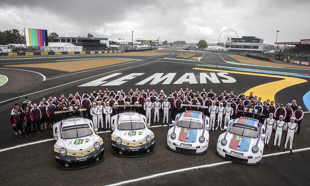 «Порше» выставит четыре автомобиля в «24 часах Ле-Мана»