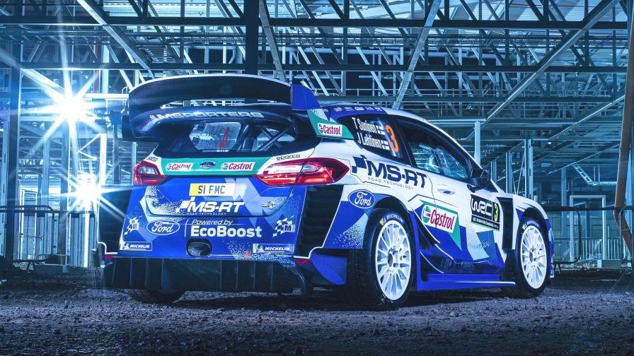 """М-Спорт"" представили расцветку своего автомобиля на сезон WRC"