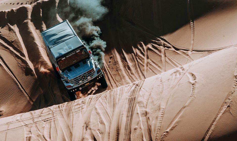 """Фромон продолжает лидировать в ралли """"Африка Эко Рейс"""" после четвёртого этапа, Титов 13-й"""