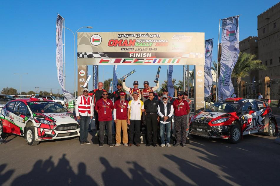 Аль-Аттия выиграл первый этап ближневосточного чемпионата по ралли