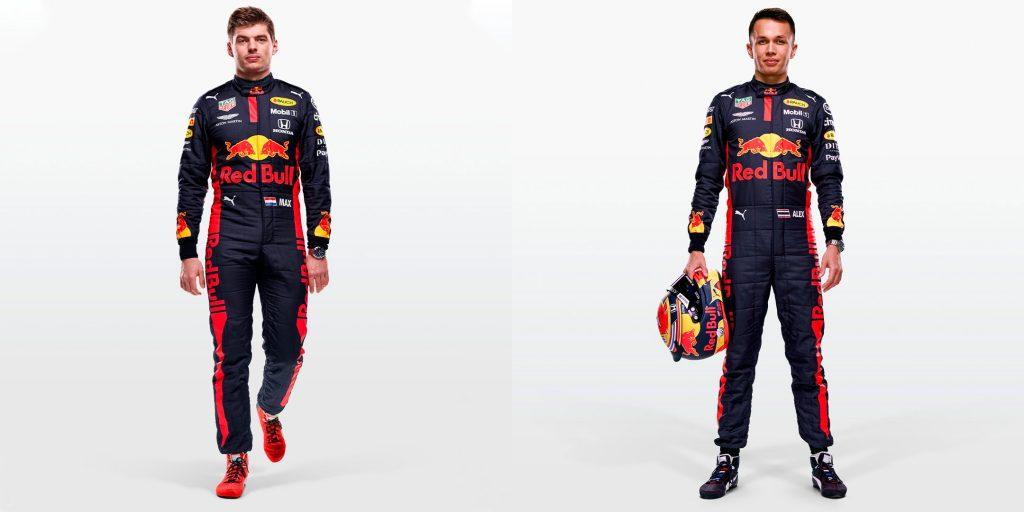 """В """"Ред Булле"""" показали новые комбинезоны гонщиков"""