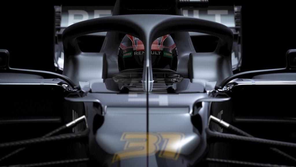"""В """"Рено"""" показали тизеры новой машины и объявили Чжоу тест-пилотом"""
