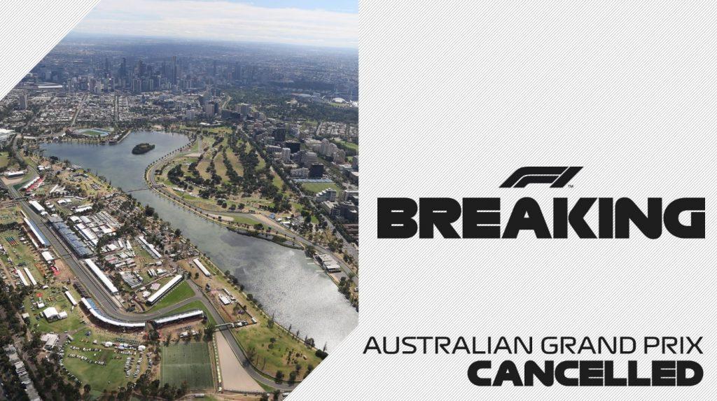Гран-при Австралии официально отменен!