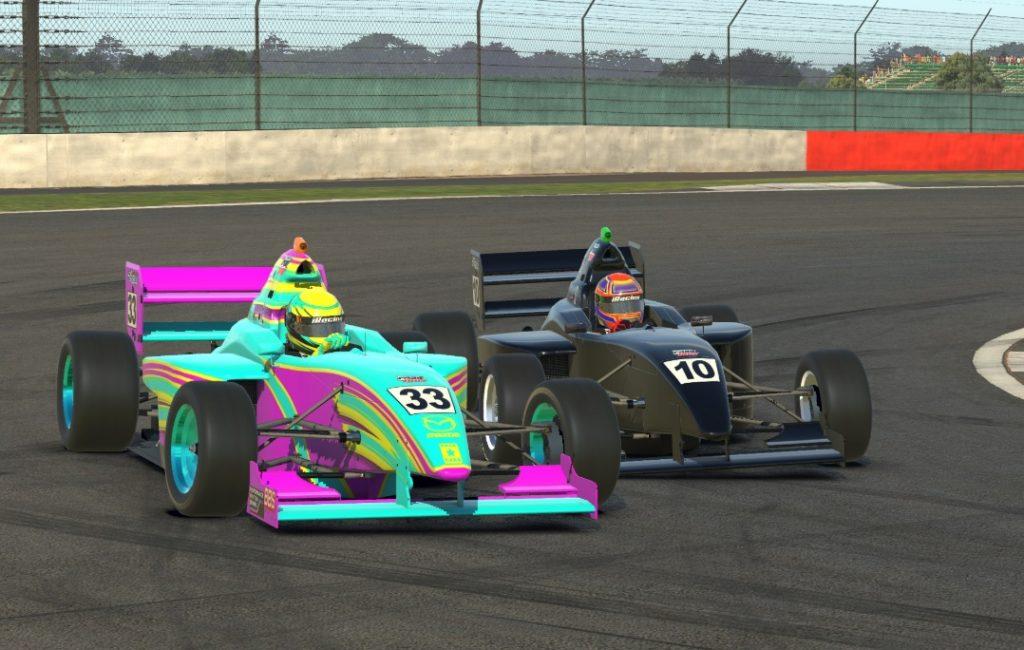 Несов стал третьим на десятом этапе виртуальной Ф4, уступив лишь Браунингу и Кроуфорду