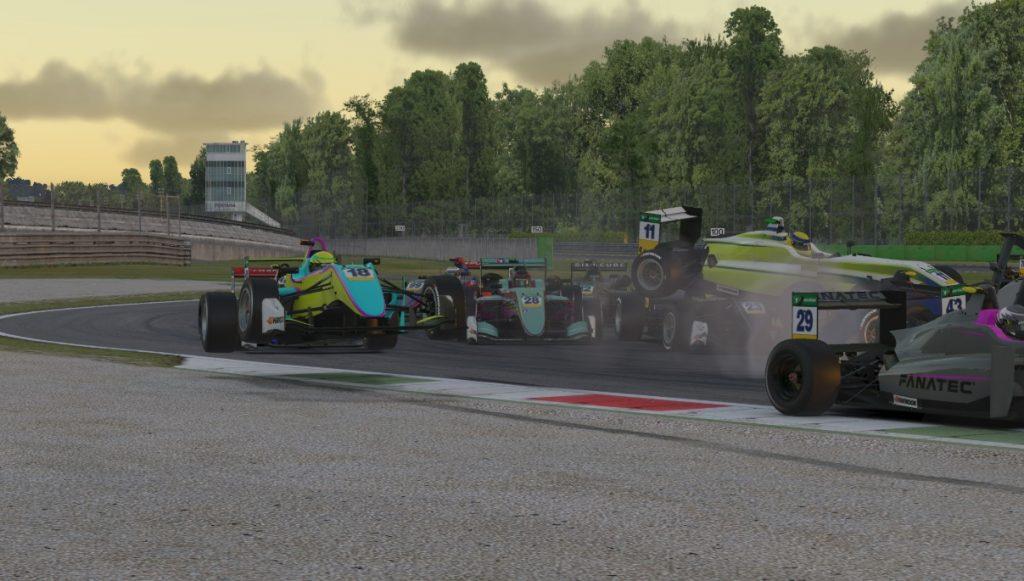 Браунинг выиграл гонку виртуальной Ф4 в Монце, Несов 12-й