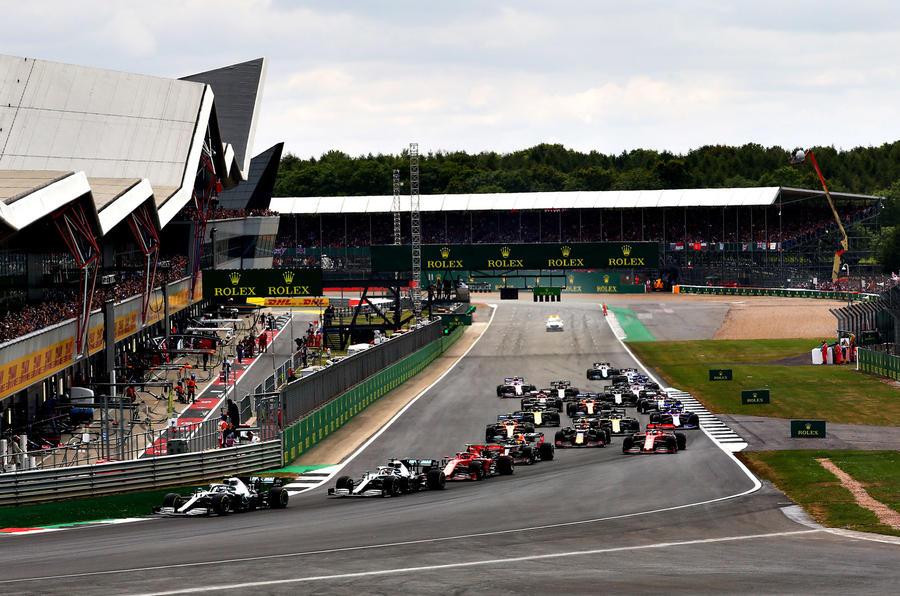 Гран-при Великобритании пройдёт без зрителей