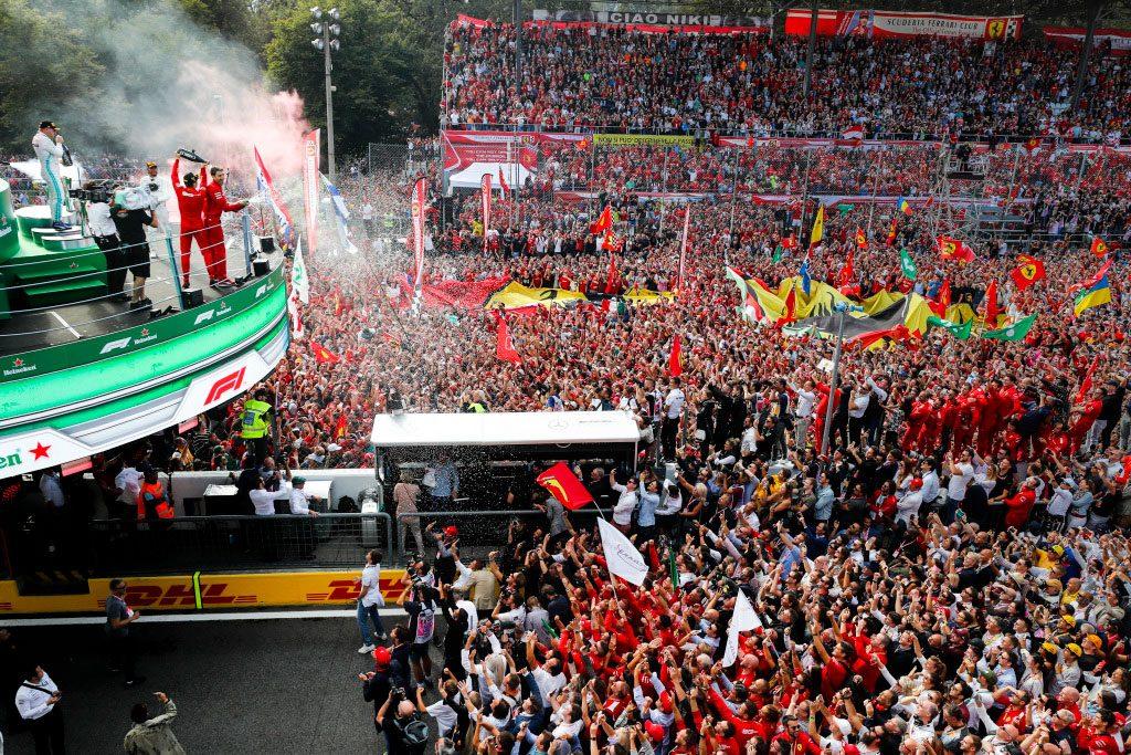 Гран-при Италии пройдёт без зрителей