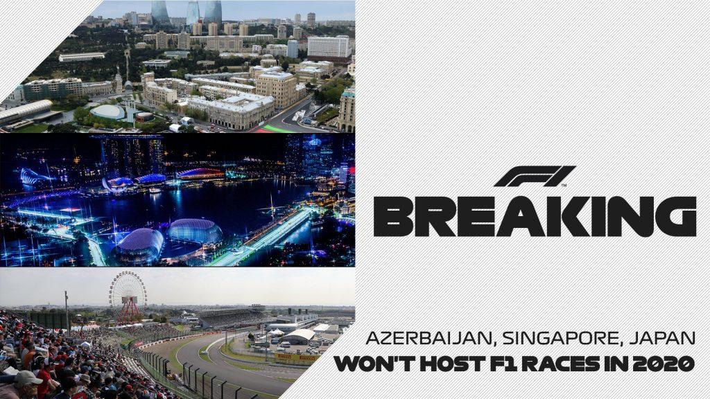 ОФИЦИАЛЬНО: Гран-при Азербайджана, Сингапура и Японии отменены!