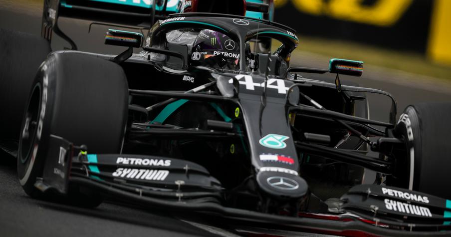 Льюис Хэмилтон выиграл квалификацию перед Гран-при Венгрии 2020 года, Квят – 17-й