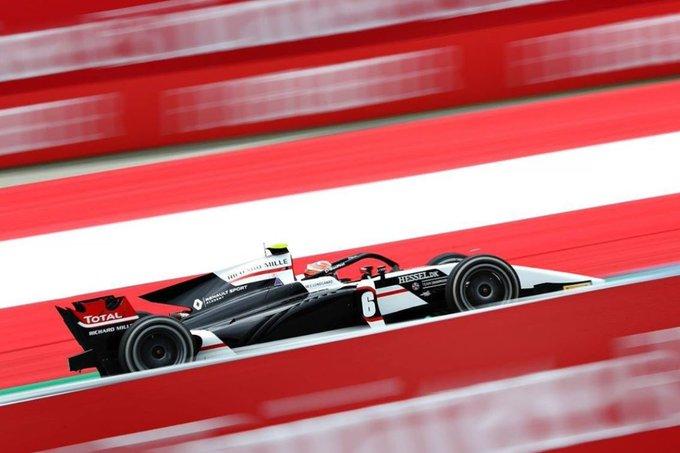 Лундгор выиграл вторую гонку Ф2 в Штирии, Шварцман сошёл
