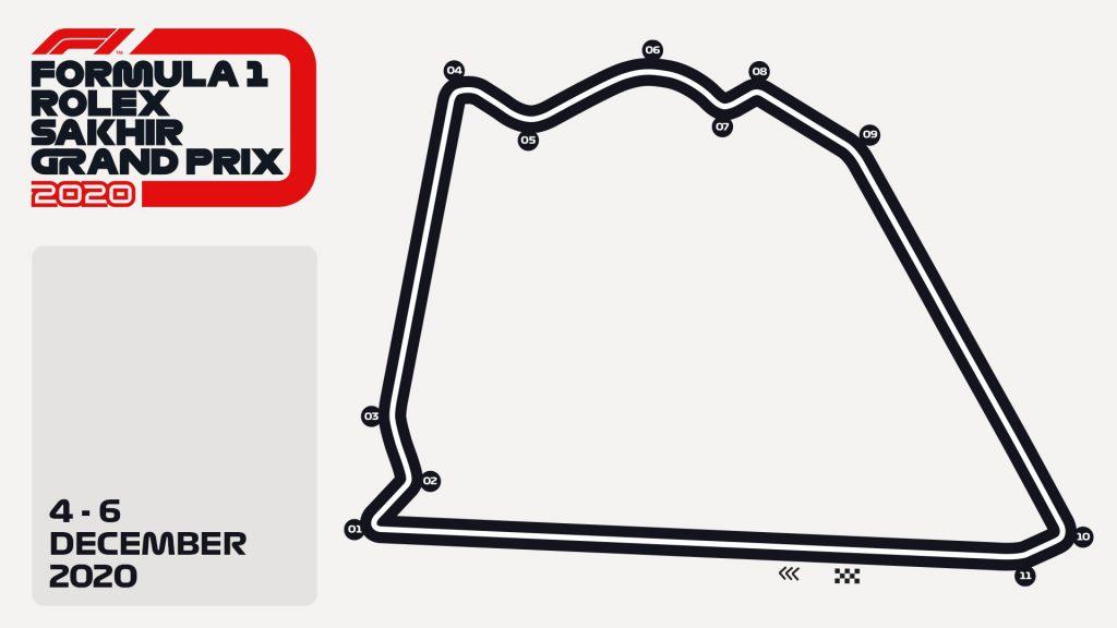 На Гран-при Сахира будет использовано внешнее кольцо трассы