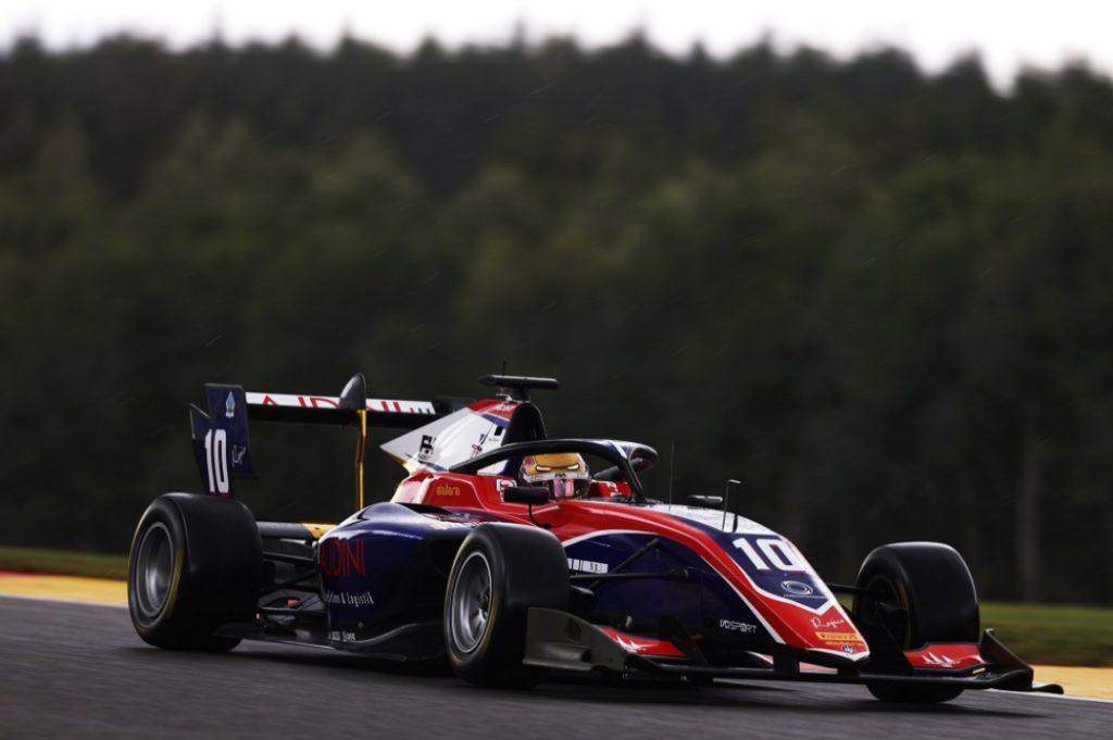 Цендели выиграл первую гонку Ф3 в Спа, Смоляр четвёртый