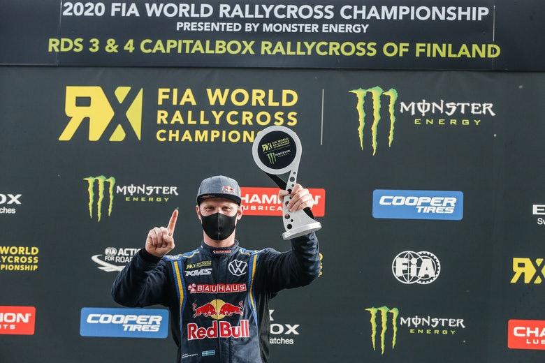 Кристофферсон выиграл первый финал сдвоенного этапа в Финляндии