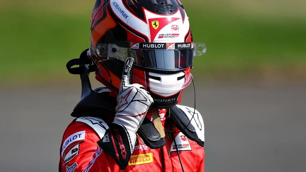 "Каллум Айлотт выиграл субботнюю гонку пятого этапа ""Формулы-2"""