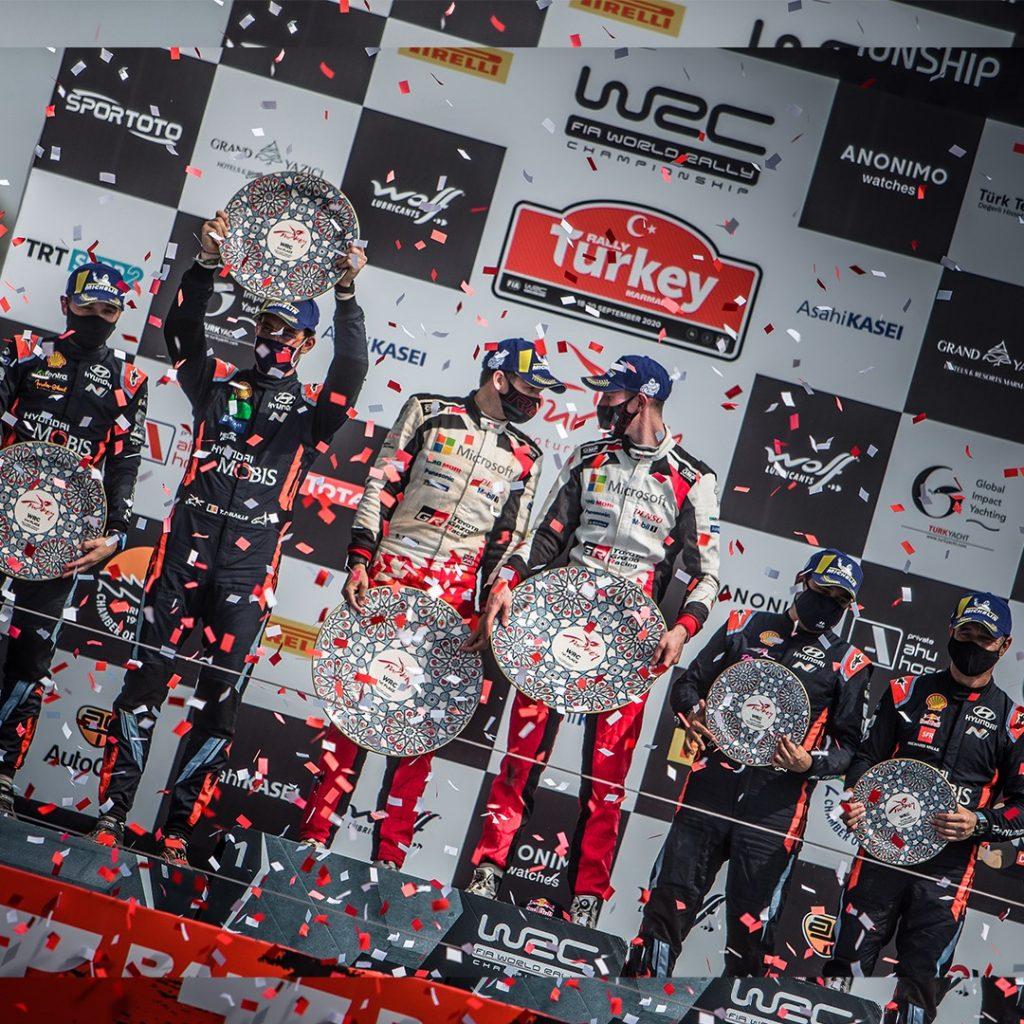 Эванс выиграл Ралли Турции и стал лидером WRC, Ожье сошёл с дистанции