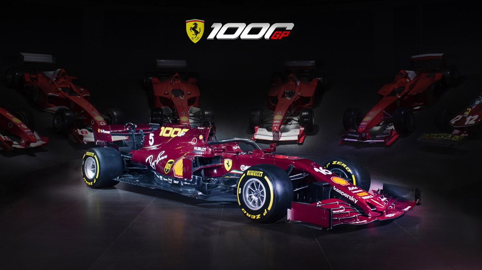 """В """"Феррари"""" показали расцветку машины на юбилейный гран-при и объявили, что Мик Шумахер проедет на F2004"""