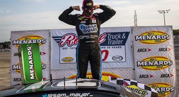 Сэм Майер победил в гонке серии АРКА в Толедо