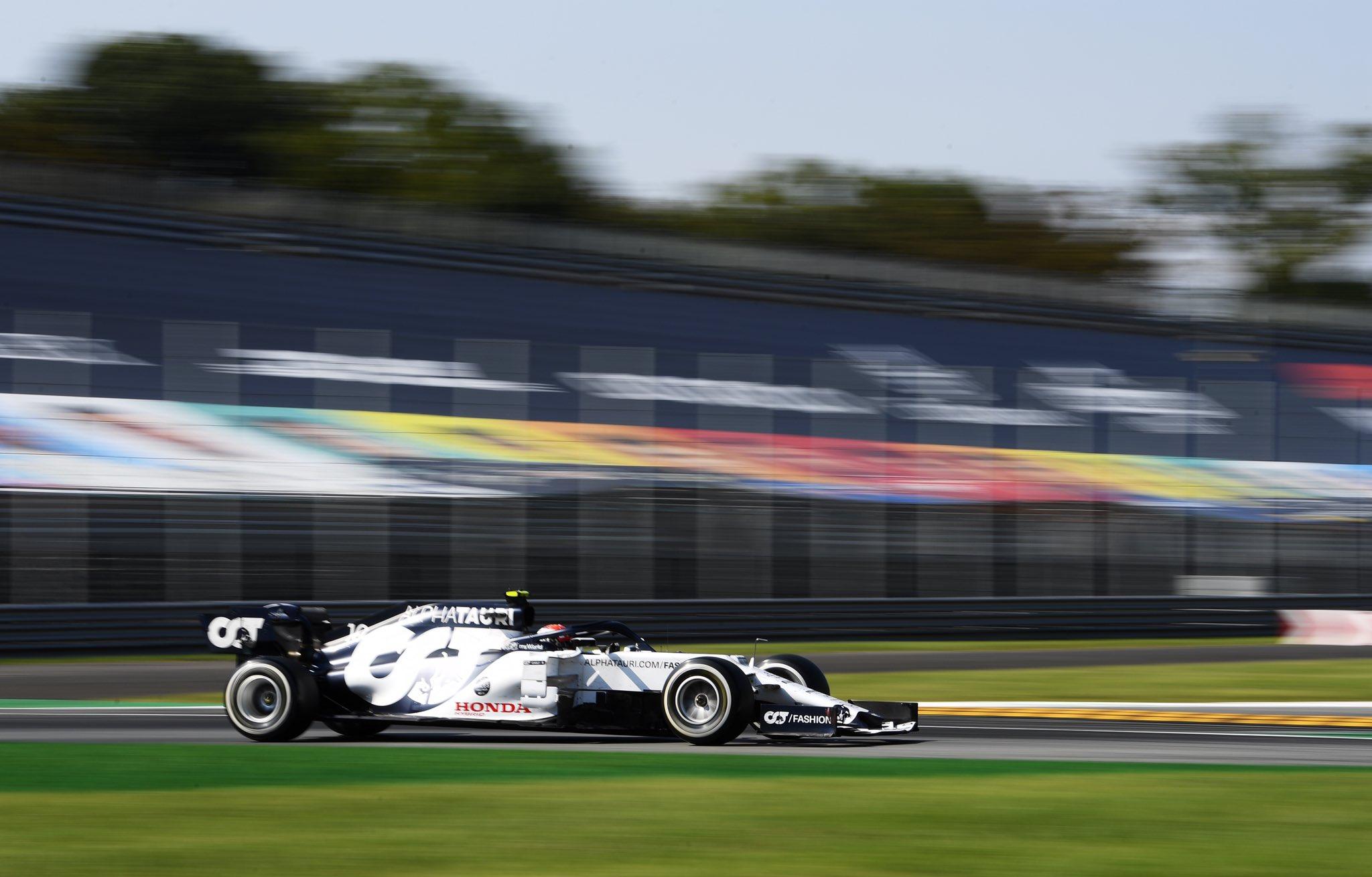 Пьер Гасли выиграл сумасшедший Гран-при Италии 2020 года! Квят – 9-й