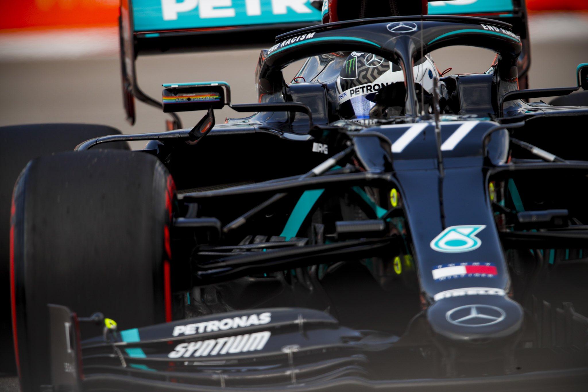 Валттери Боттас выиграл Гран-при России 2020 года. Квят – восьмой