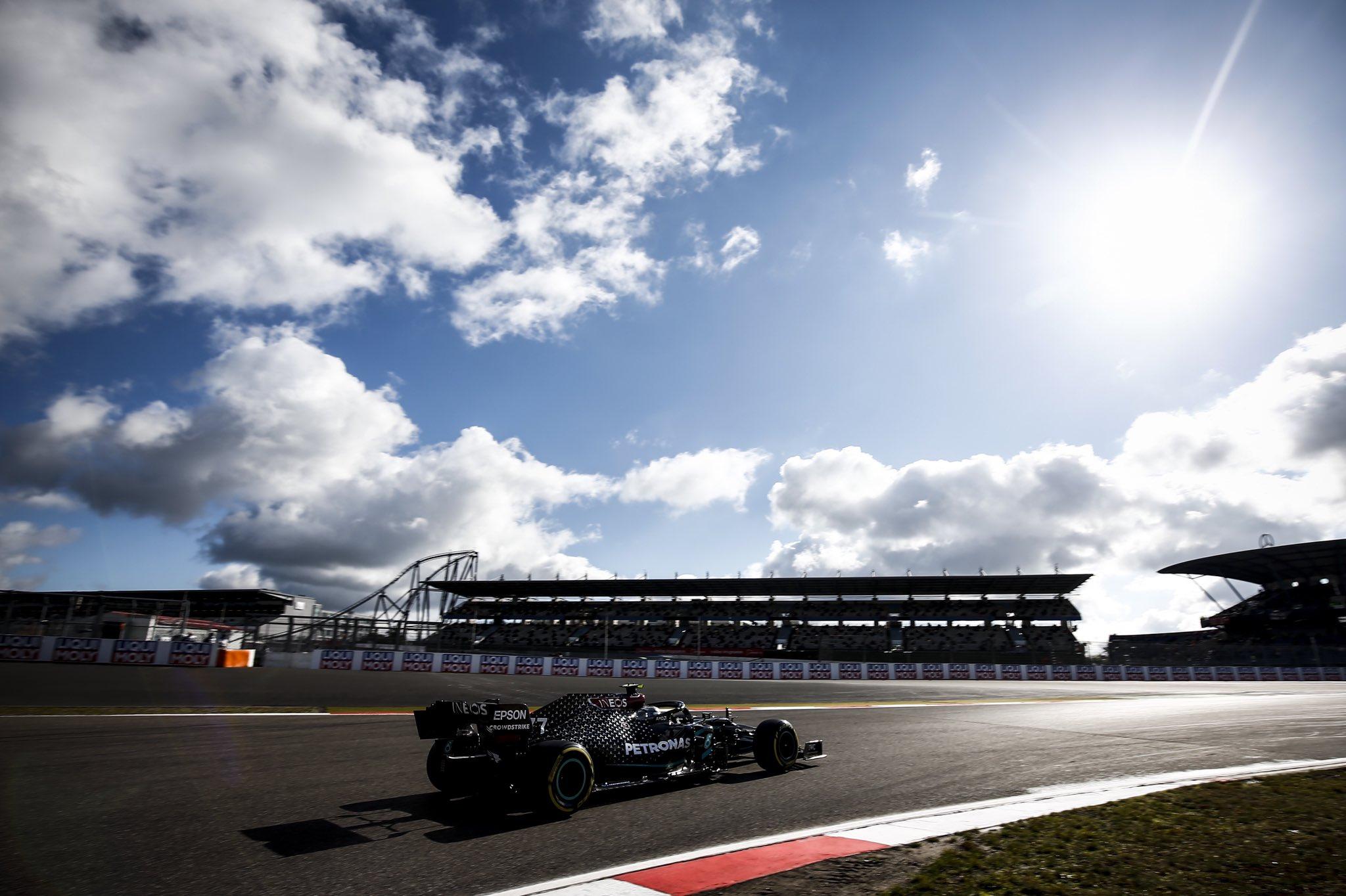 Боттас стал лучшим в тренировке Гран-при Айфеля, Стролла может заменить Хюлькенберг