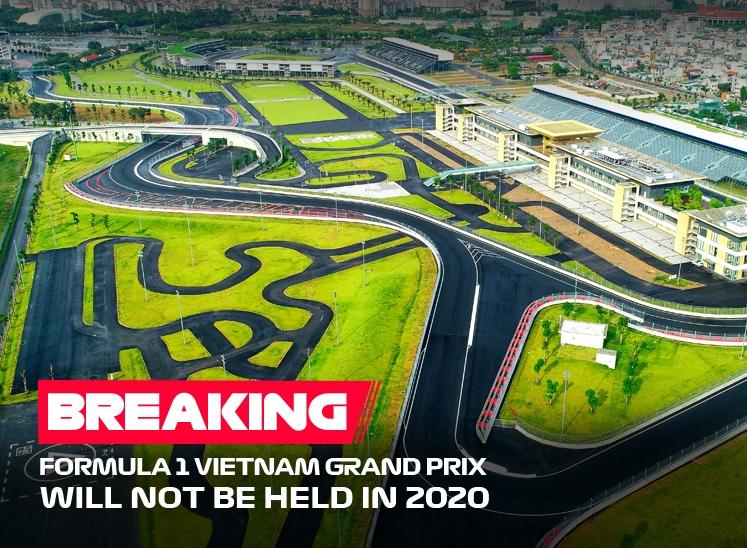 Гран-при Вьетнама 2020 года официально отменён!