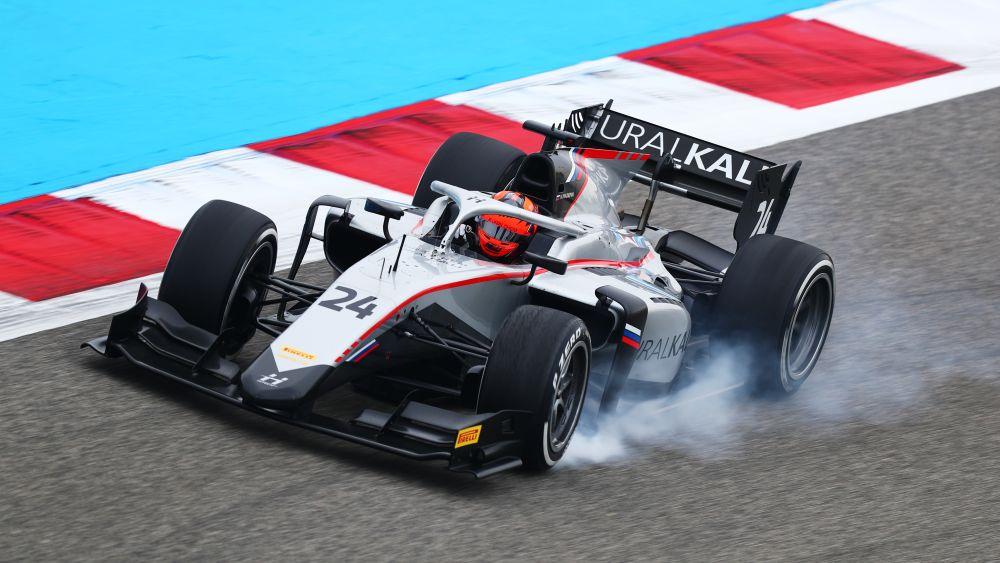 """Никита Мазепин стал быстрейшим в тренировке """"Формулы-2"""" в Бахрейне!"""