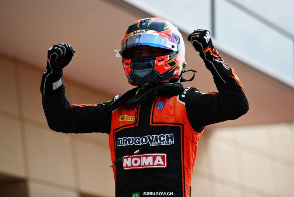 Другович стал сильнейшим в первой гонке Ф2 в Бахрейне, Мазепин пятый, Шварцман восьмой