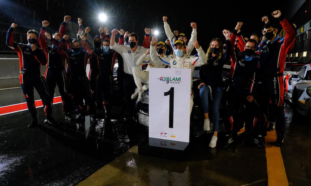"""БМВ выиграли """"9 часов Кьялами"""" и отпраздновали титул в Межконтинентальной серии ГТ"""