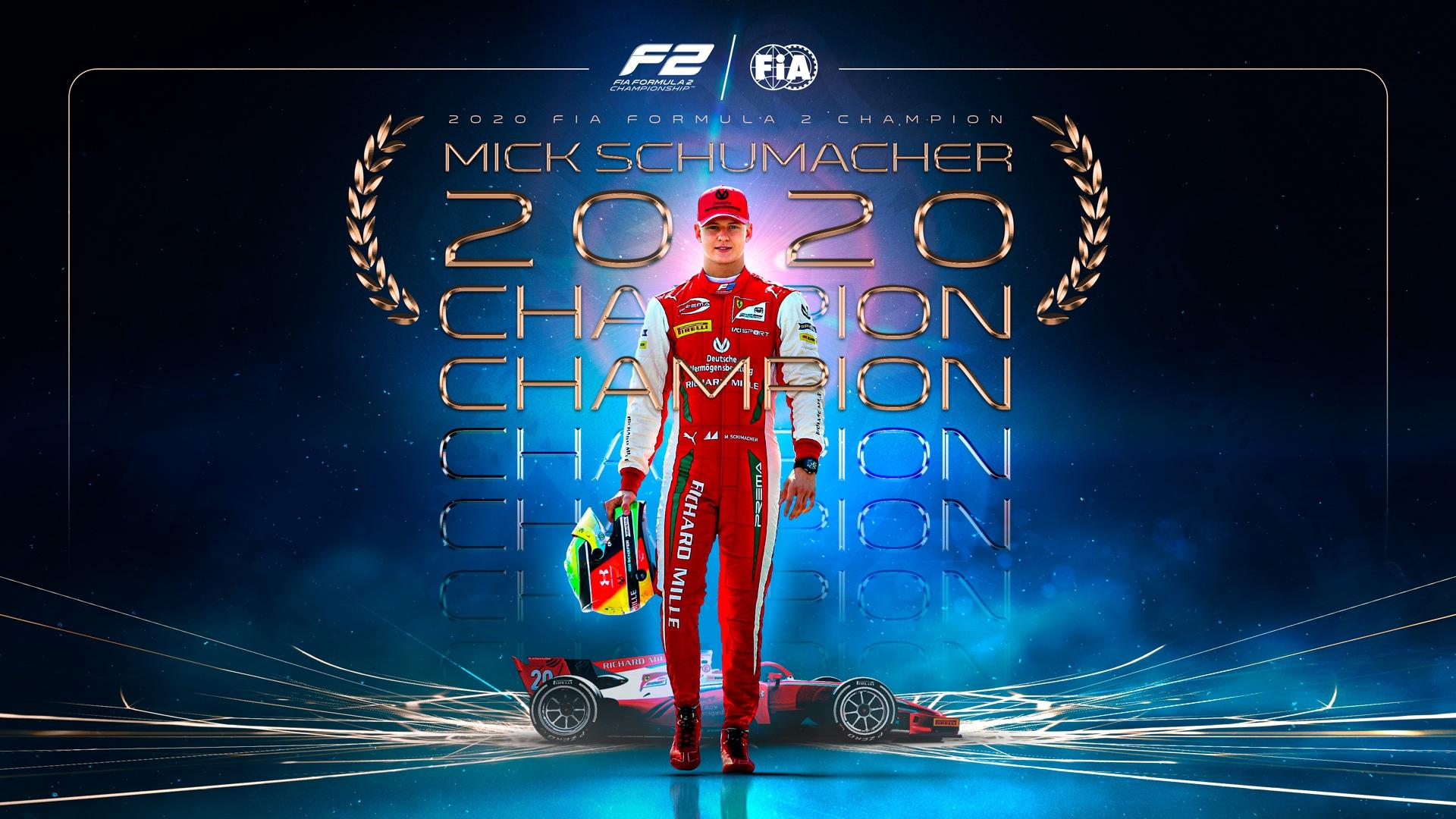Мик Шумахер стал чемпионом Ф2! Дарувала выиграл последнюю гонку, Цунода – лучший новичок сезона