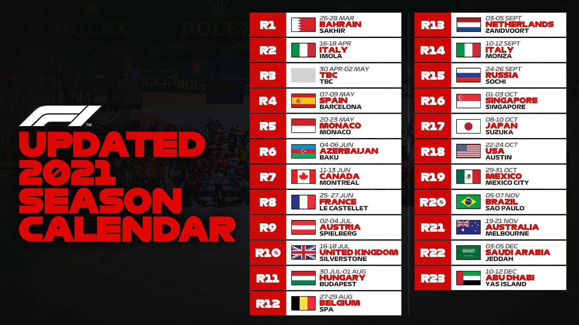 ОФИЦИАЛЬНО: Гран-при Австралии перенесён на осень, сезон Ф1 стартует в Бахрейне