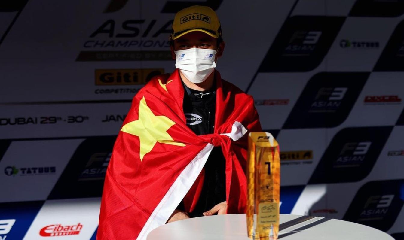 Чжоу возглавляет личный зачёт азиатской Ф3 после первого этапа, Шове выиграл третью гонку
