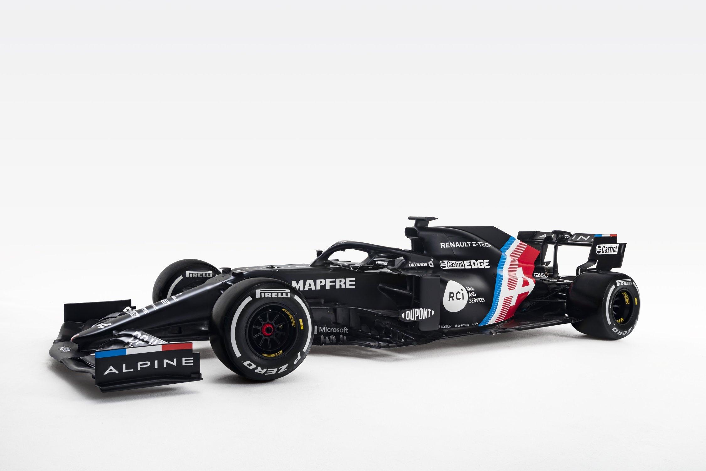 """Новая машина """"Альпин"""" будет преимущественно чёрной?"""