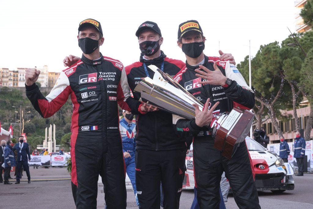Восьмая победа Себастьена Ожье в Ралли-Монте Карло