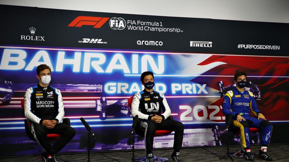"""Чжоу: С моей стороны все прошло без проблем. Пресс-конференция по итогам квалификации """"Формулы-2"""" в Бахрейне"""